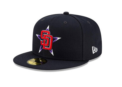 New Era 59FIFTY MLB 2021 All-star Game San Diego Padresの写真
