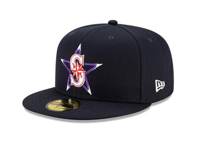 New Era 59FIFTY MLB 2021 All-star Game Seattle Marinersの写真