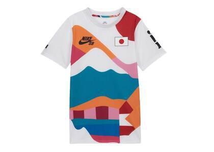 Nike SB × Parra Federation Kit T Shirt Youth Crew Jersey Japan Kids Whiteの写真