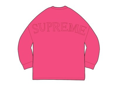 Supreme Overdyed L-S Top Magentaの写真