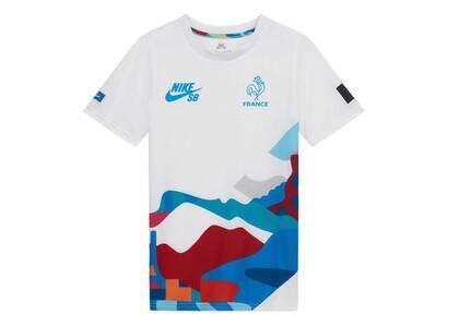 Nike SB × Parra Federation Kit T Shirt Youth Crew Jersey France Kids Whiteの写真