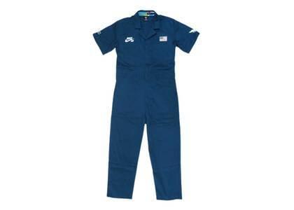 Nike SB × Parra Federation Kit Pants Coverall USA Blueの写真