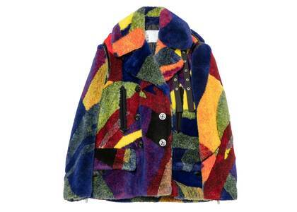 KAWS x Sacai Womens Fur Coat Multiの写真