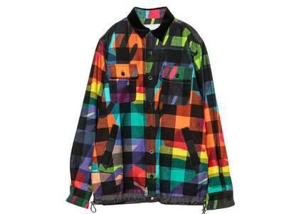 KAWS x Sacai Camo Button L/S Shirt Multiの写真