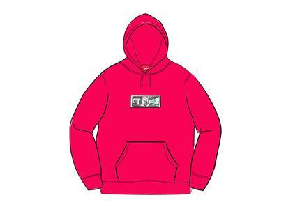Supreme Franklin Hooded Sweatshirt Fuchsiaの写真