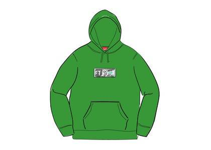 Supreme Franklin Hooded Sweatshirt Light Pineの写真