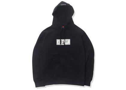 Supreme Franklin Hooded Sweatshirt Blackの写真