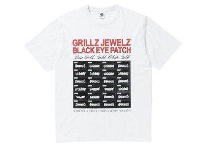 The Black Eye Patch Grillz Jewelz Tee White (SS21)の写真