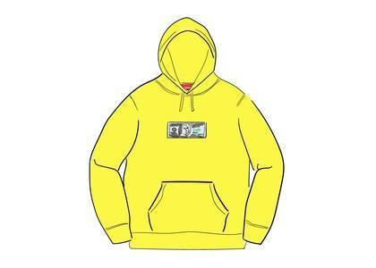 Supreme Franklin Hooded Sweatshirt Lemonの写真