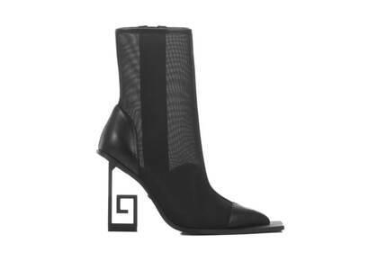 YELLO Nota Mesh Short Boots Blackの写真