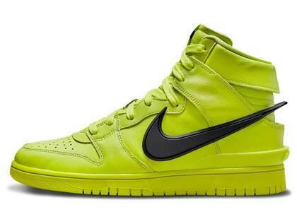 Ambush × Nike Dunk High Flash Limeの写真