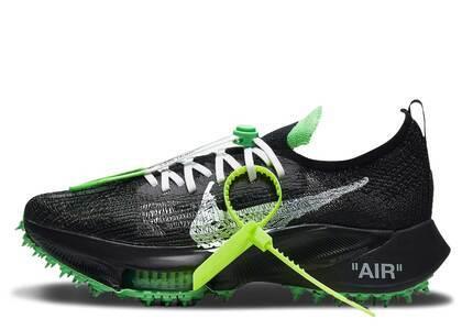 Off-White x Nike Air Zoom Tempo NEXT% Black Greenの写真