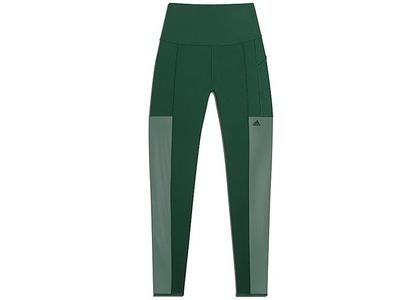 adidas Ivy Park Mesh 3-Stripes Tights Dark Green (FW20)の写真