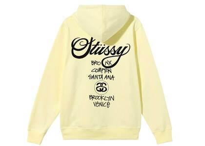 Stussy World Tour Hoode Yellow (SS21)の写真