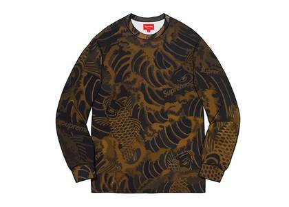 Supreme Waves L-S Top Blackの写真