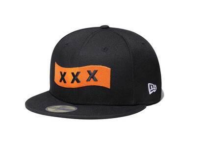 God Selection XXX × New Era 59Fifty Yomiuri Giants XXX Logo Blackの写真