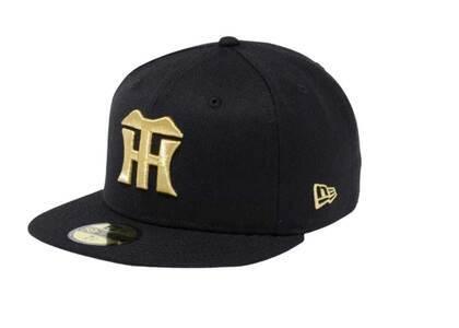 New Era 59Fifty Hanshin Tigers Black/Goldの写真