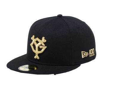 New Era 59Fifty Giants Yomiuri Giants 100th Anniversary Logo Black/Goldの写真
