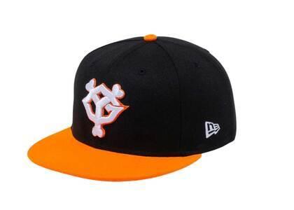 New Era 9Fifty Yomiuri Giants Dim Orange Visor Blackの写真