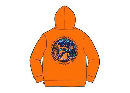 Supreme Embryo Hooded Sweatshirt Orangeの写真