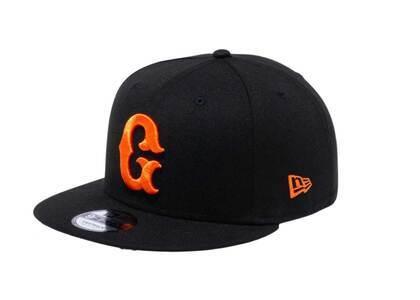 New Era 9Fifty Yomiuri Giants G Logo Black/Rust Orangeの写真
