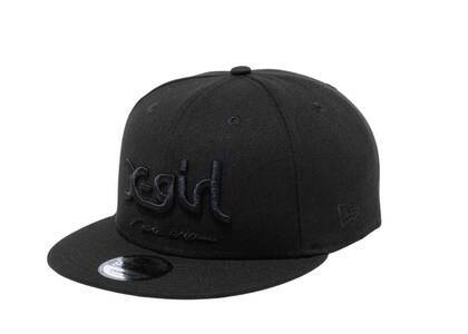 X-girl × New Era 9Fifty MILLS Logo Black/Blackの写真