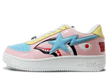 Bape Shark Bape Sta Low Pink 1G30-191-002の写真