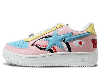 Bape Shark Bape Sta Low Pink 1H20-191-013の写真