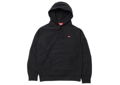 Supreme Small Box Hooded Sweatshirt Blackの写真