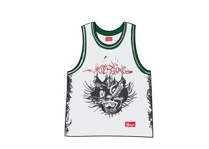 Supreme Animal Basketball Jersey Whiteの写真