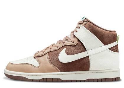 Nike Dunk High Light Chocolateの写真