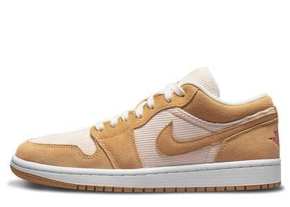 Nike Air Jordan 1 Low Corduroy Suede Womensの写真