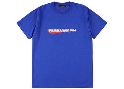 Wind And Sea Counter Stop Tee Blueの写真