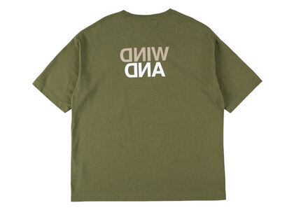 Wind And Sea A32 Invert - Op T-Shirt Oliveの写真