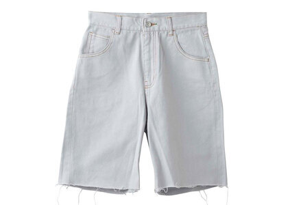 X-girl Loose Half Pants Light Greyの写真
