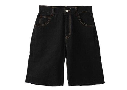 X-girl Loose Half Pants Blackの写真