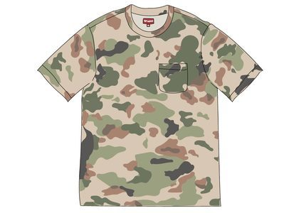 Supreme Overdyed Pocket Tee (SS20) Painted Camoの写真