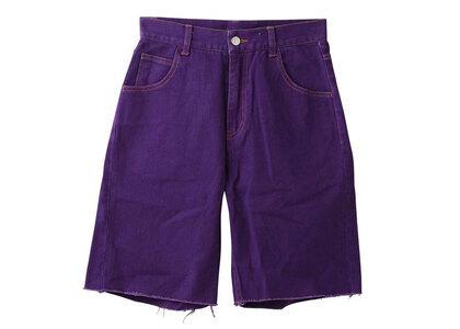 X-girl Loose Half Pants Purpleの写真