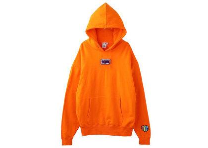 X-girl Prism Patch Sweat Hoodie Orangeの写真