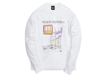 Kith for Mandela Day 2021 Illustrations Vintage L/S Tee Whiteの写真