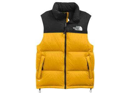 The North Face 1996 Retro Nuptse Vest US Arrowwood Yellowの写真
