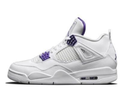 Nike Air Jordan 4 Retro Metallic Purpleの写真