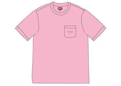 Supreme Overdyed Pocket Tee (SS20) Pinkの写真
