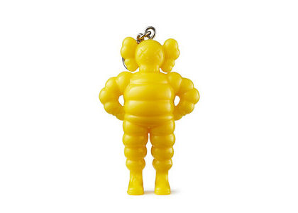 KAWS × Medicom Toy Chum Keyholder Yellowの写真