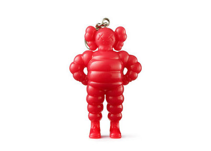 KAWS × Medicom Toy Chum Keyholder Pinkの写真