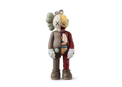 KAWS × Medicom Toy Companion (Flayed) Keyholder Brownの写真