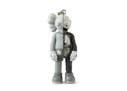 KAWS × Medicom Toy Companion (Flayed) Keyholder Greyの写真