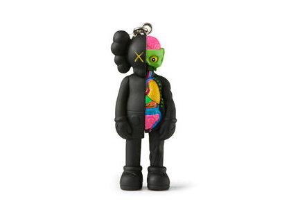 KAWS × Medicom Toy Companion (Flayed) Keyholder Blackの写真