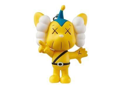 KAWS × Medicom Toy JPP Keyholder Yellowの写真