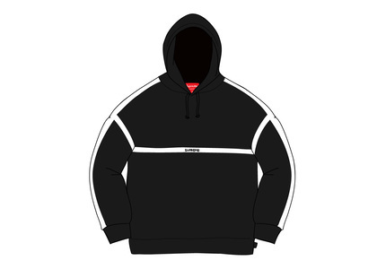 Supreme Warm Up Hooded Sweatshirt Blackの写真